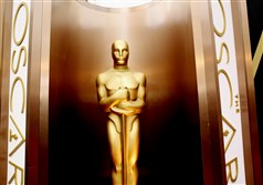 An Oscar statue appears at the Academy Awards at the Dolby Theatre in Los Angeles. Between Jan. 15, when Academy Award nominations are announced, and Feb. 22, film fans flock to the theaters to see the nominated works.