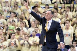 """We're used to being in the NCAA tournament. We play for that,"" Pitt coach Jamie Dixon said."