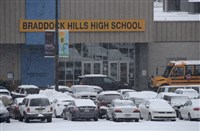 Students at Propel Braddock Hills High School were sent home this morning after a threat was phoned in to the school. The incident comes three days after the school went on lockdown when a gun was found in the school.