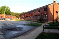 Crawford Village public housing complex.