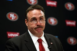 New 49ers head coach Jim Tomsula is a 1985 graduate of Steel Valley High School.