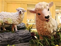 The Chinese Year of the Goat is also called the year of the Sheep and the Ram.