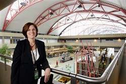 Christina Cassotis, CEO of the Allegheny County Airport Authority which operates Pittsburgh International Airport.