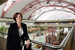 Christina Cassotis, the new CEO of the Allegheny County Airport Authority, began work Jan. 15.