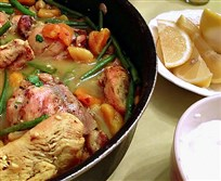 Posie's Chicken Tagine.