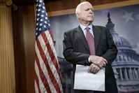 John McCain, R-Ariz., had proposed an amendment to the Senate's version of the Keystone XL authorization bill.