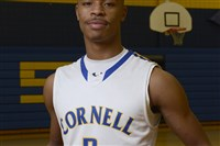 Cornell's Dane Jackson leads the basketball team with 29.4 points per game and was the starting quarterback at Quaker Valley (Cornell does not have a football team).