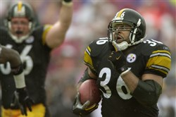 The Steelers' Jerome Bettis will be enshrined in the Pro Football Hall of Fame the night before the Steelers are set to play in the Hall of Fame game.