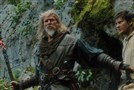 "Master Gregory (Jeff Bridges) trains Tom Ward (Ben Barnes) in ""Seventh Son."""