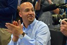 Penn State football coach James Franklin, shown here in a 2015 file photo, says his assistants and other staff have new two-year deals.