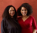 "Author Alice Randall and her daughter Caroline Randall Williams, authors of ""Soul Food Love."""