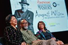 "Actress Phylicia Rashad, left, filmmaker Sam Pollard and executive producer Darryl Ford Williams discuss the life and legacy of ""America's Shakespeare,"" August Wilson."