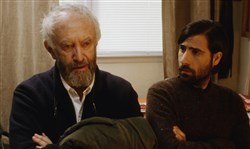 "Jonathan Pryce and Jason Schwartzman in ""Listen Up Philip."" d"