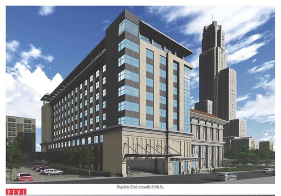A Rendering Of The Proposed Hotel Behind Paa In Oakland