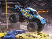 Backwards Bob at Monster Truck Jam.