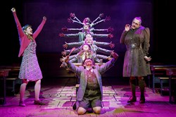 """Matilda the Musical"" will arrive at the Benedum Center stage in May 2016."