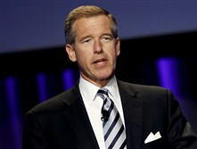"Brian Williams, former anchor and managing editor of ""NBC Nightly News."""