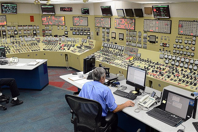 The control room at FirstEnergy's Beaver Valley Power Station Unit 1.
