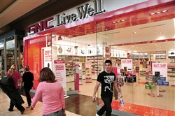 GNC's store in Ross Park Mall.