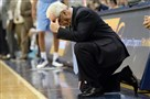 North Carolina coach Roy Williams reacts after the Tar Heels were called for a foul in their loss to Pitt last season at Petersen Events Center.