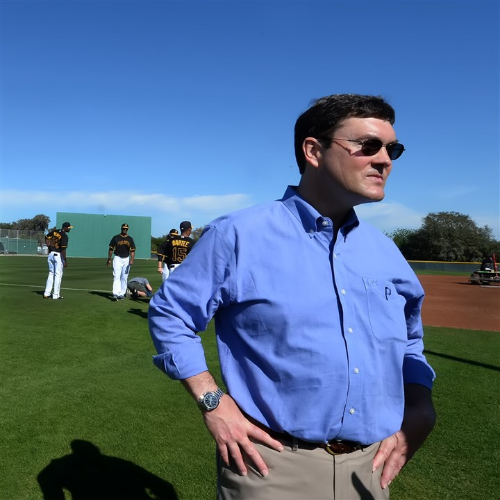 "Pirates owner Bob Nutting  Pirates owner Bob Nutting gets a firsthand look at the team early in camp last spring. Said Nutting: ""We knew it was up to us to put an exciting team on the field that could consistently compete for the postseason. ... The results have been additional revenues, all of which we have invested back into the club."""