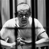 "Anthony Hopkins as Hannibal Lecter in ""Silence of the Lambs."""