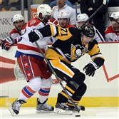 The Penguins could make a play for Capitals winger Joel Ward, left, when free agency begins.