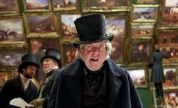 "Timothy Spall as J.M.W. Turner in the film ""Mr. Turner."""