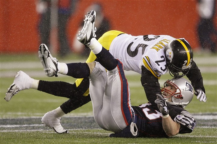 Steelers Patriots rivalry, Ryan Clark, Wes Welker, Steelers vs Patriots
