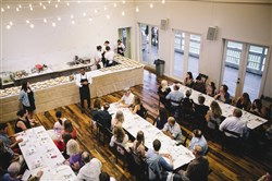 Dinner Lab Pittsburgh will host at least one event a week at different venues around the city with two seatings of 60 people a night.
