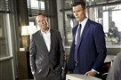 Dean Winters as Detective Russ Agnew, left, and Josh Duhamel as Special Agent Milt Chamberlain in &qu