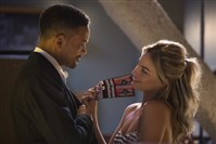 "Will Smith as Nicky and Margot Robbie as Jess both share an interest in grifting in ""Focus."""