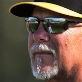 Pirates pitching coach Ray Searage and staff were given contract extensions on Friday.