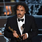 Alejandro G. Inarritu says he clapped for costume design Oscar winner Jenny Beavan.