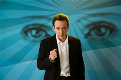"John Cusack portrays Stafford Weiss, a famed TV self-help therapist, in ""Maps to the Stars."""