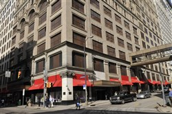 The deal with Core would end a five-year quest by Macy's to sell the property.