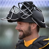 Pirates catcher Chris Stewart during February workouts at Pirates City in Bradenton, Florida.