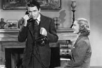 Let's Talk About Art article. They are stills from Mr. Smith Goes to Washington, starring Jimmy Stewart and Jean Arthur.