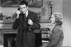 "From Frank Capra's 1939 film ""Mr. Smith Goes to Washington,"" starring Jimmy Stewart and Jean Arthur."