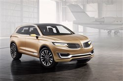 The Lincoln Motor Company unveiled the MKX Concept at Auto China in Beijing. The MKX Concept hints at a global sport utility vehicle that will become the third of four all-new Lincoln vehicles due by 2016.