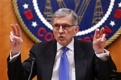 Federal Communications Commission Chairman Tom Wheeler speaks at a hearing on net neutrality Feb. 26 in Washington.