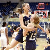 A loss in the PIAA Class AAAA semi­fi­nals couldn't spoil Norwin's season, which included a celebration by Taylor Ingel, left, and Danielle McMaster after defeating Penn Hills in the WPIAL class AAAA championship.