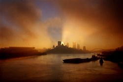 The sun rises over the 'New Pittsburgh' (2003)