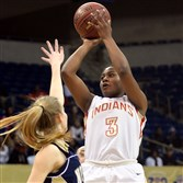 Desiree Oliver, a Temple recruit, leads Penn Hills in scoring with 17 points per game.