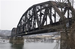 There are more than 70 railroad bridges in Allegheny County.