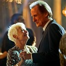 "Judi Dench as Evelyn Greenslade and Bill Nighy as Douglas Ainslie in ""The Second Best Exotic Marigold Hotel"