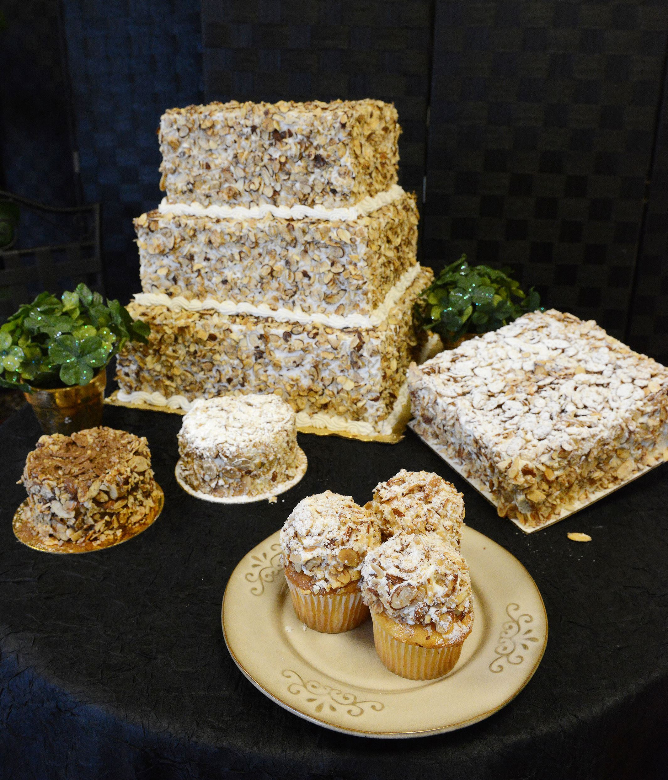 A taste of Pittsburgh Burnt Almond Torte