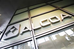 Alcoa reported earnings after the U.S. markets closed.