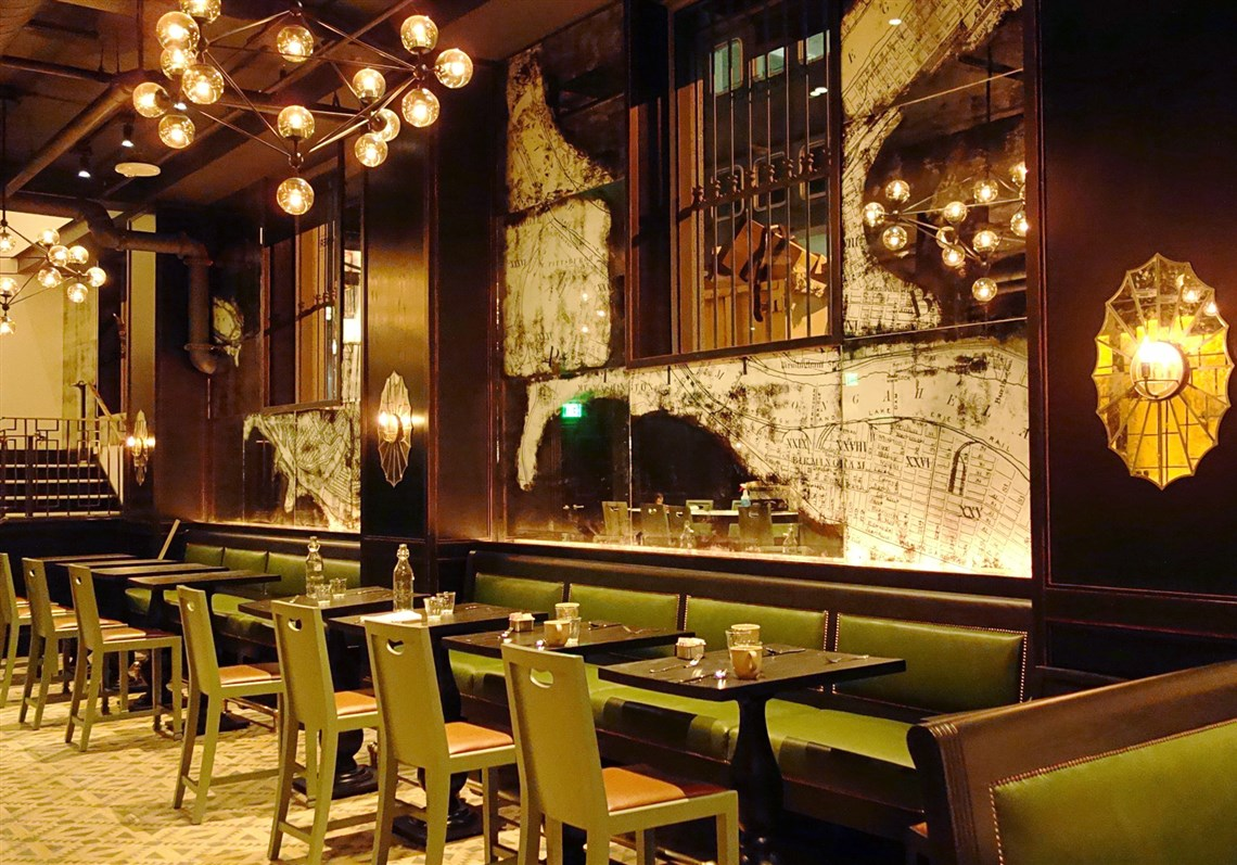 The Commoner Restaurant In The Old Reed Smith Building, Downtown Designed  By Mark Zeff. 10. Interior Designer ...