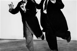 They made funny messes: (Stan) Laurel and (Oliver) Hardy in 1936